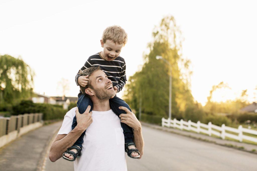 Оставить ребенка с отцом