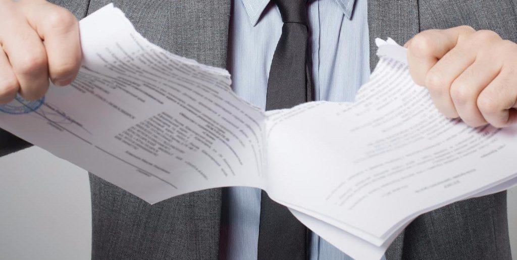 Расторжение аренды осуществляется по соглашению, либо через суд