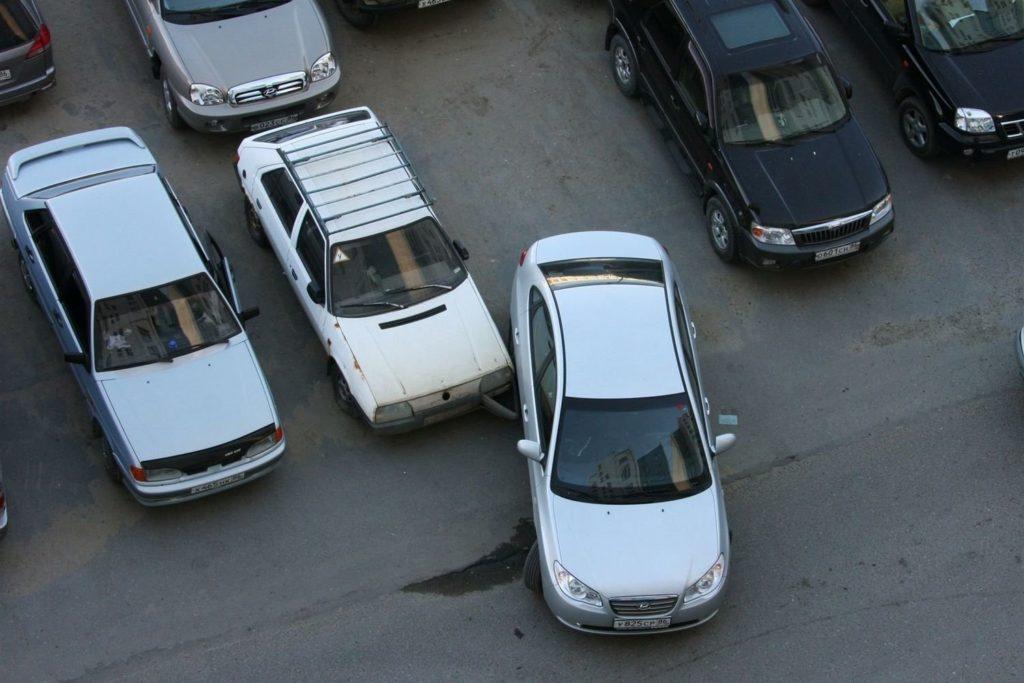 ДТП на парковке все по шагам